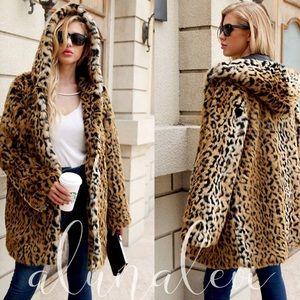 Leopard Hoodie Jacket Coming Soon
